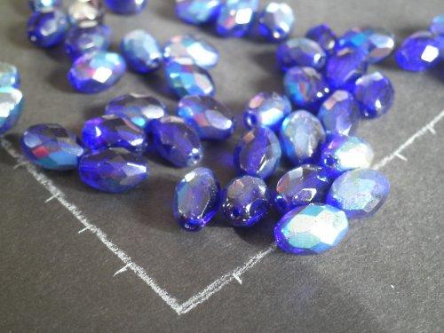 Modrofialové ohňovky, 1 cm, 10 ks