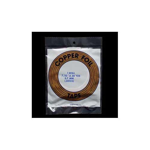 Vitrážní páska měď/černá 5,7mm