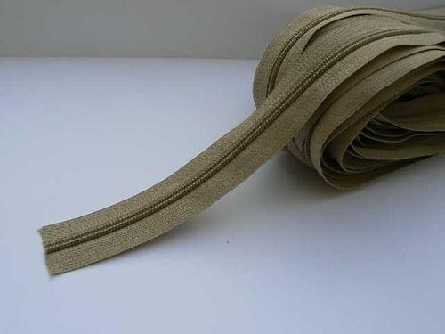 Zip spirálový v metráži 5 mm