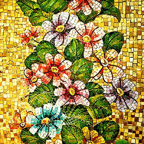 Mozaiková odlévací forma dekorační