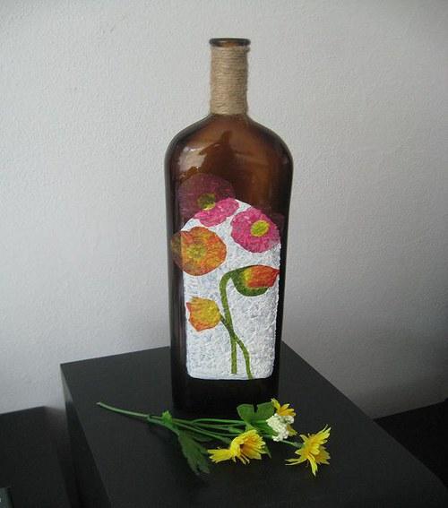 Dárková dekorativní láhev - SLEVA!