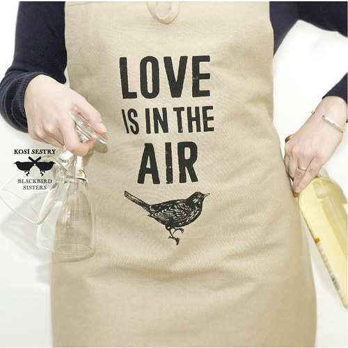 Love is in the Air... unisex zástěra
