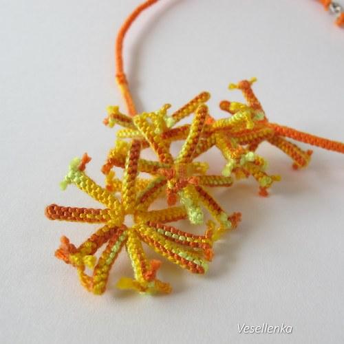 náhrdelník Oranžová exploze