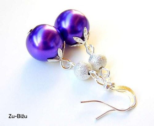 Fialové perličky