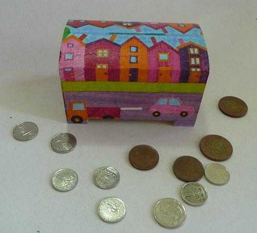 Pokladnička - Jedeme městem