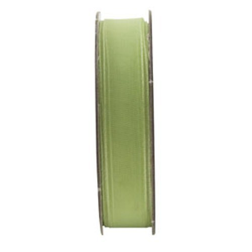 Stuha organza zelená