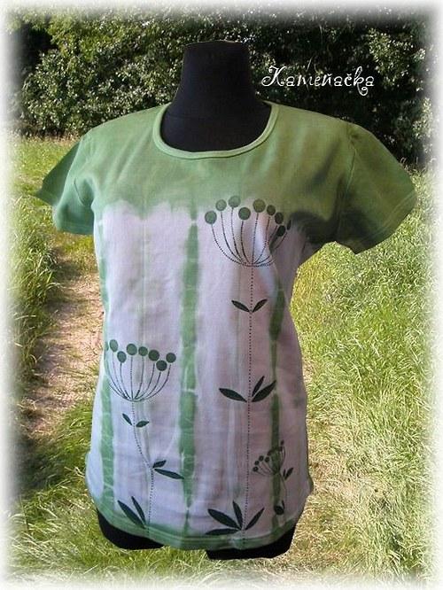 Dámské tričko - louka