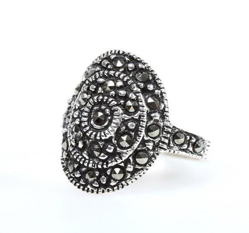 Prstýnek stříbro Zanya