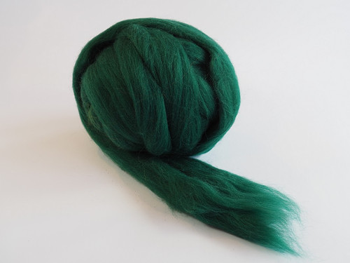 Španělská ovčí vlna - zelená tmavá 20g
