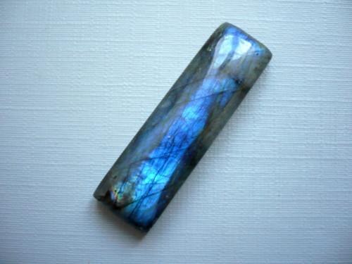 Kabošon - labradorit modrý 39 mm, č.315