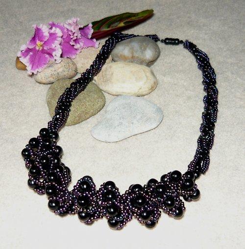 Spirálový náhrdelník