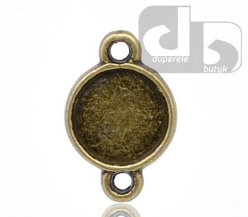 Bronzové konektory s lůžkem 2 ks
