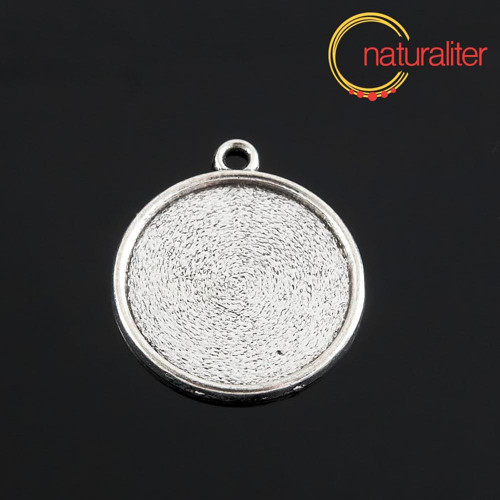 Lůžko kruh 20mm starostříbro