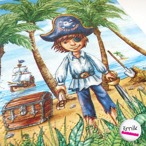 ubrousek s pirátem