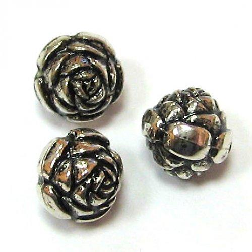 Starostříbrné růže - 4 ks