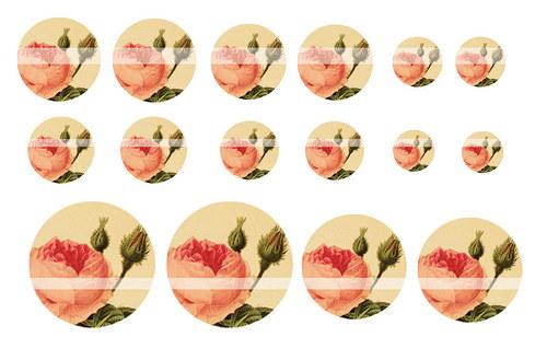 Návrh na pryskyřici - květiny č.1