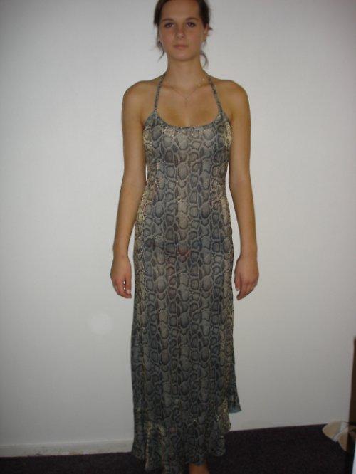 společenské šaty vel.38 SLEVA