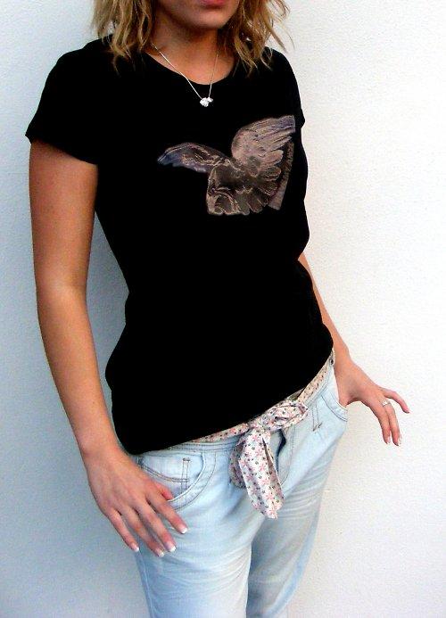 Dámské tričko ,I have my angel´´