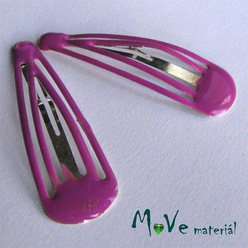 Prolamovačka - spona do vlasů, růžovofialová 2ks