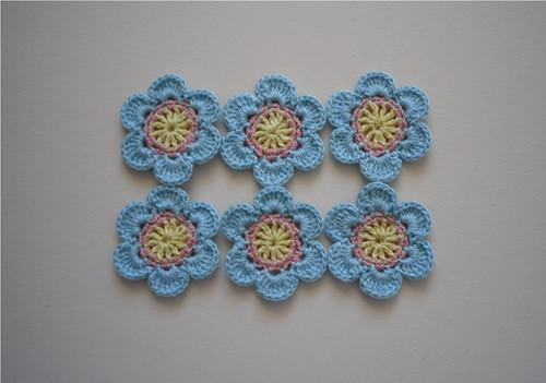 Sada květů modrých