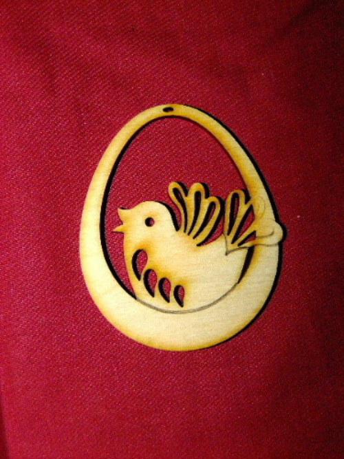 Velikonoční vajíčko PTÁČEK 1
