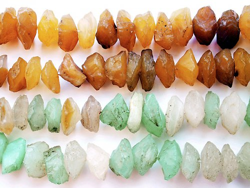 Chalcedon multicolor - disk -hrubé kameny ((PM42))