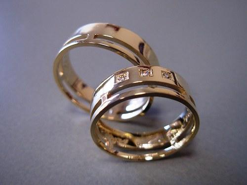 Snubní prsteny č.5