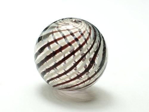 skleněný foukaný korálek 20mm