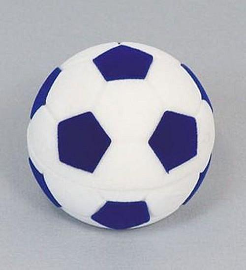 Sametová krabička na šperky - fotbalový míč