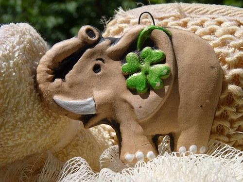 Sloník pre šťastie