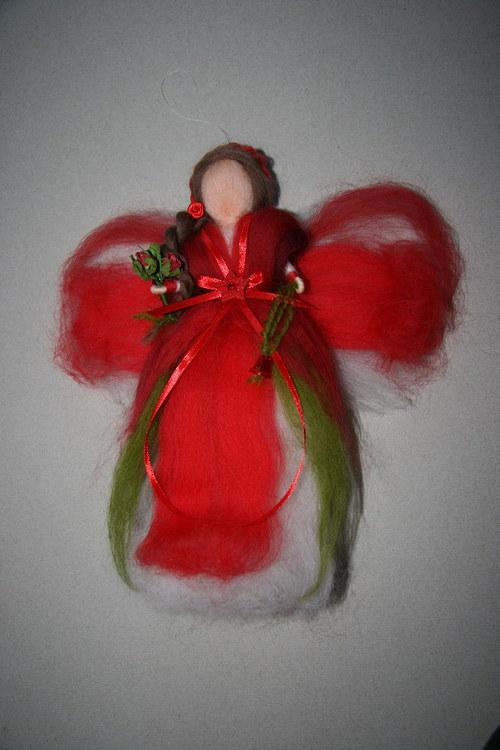 Víla Růženka červená - cca 28 cm