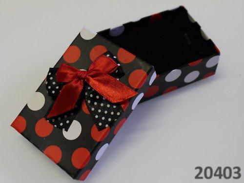 20403 Luxusní dárková krabička s PUNTÍKY 6/8/3