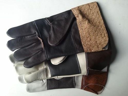 Celolícové kožené rukavice