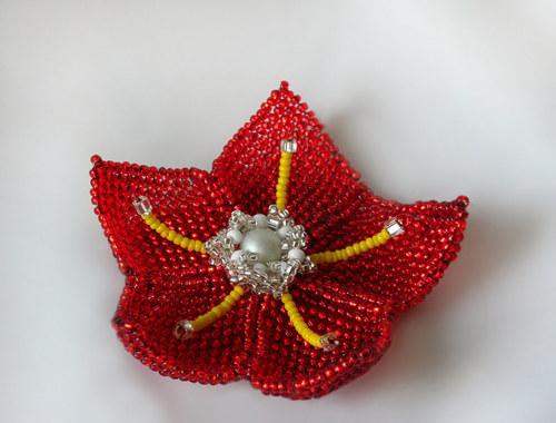 Rudý květ