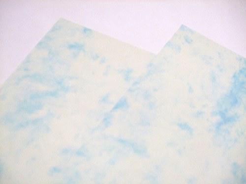 Univerzální papír mramor modrý