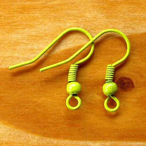 Afroháčky - 10ks - Žluté