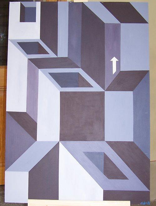 prostorový klam-obraz