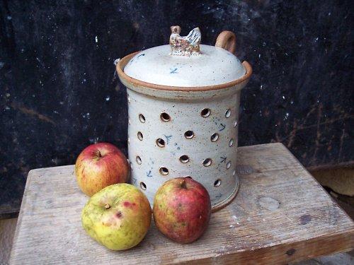 pec na jablko - PTÁČEK