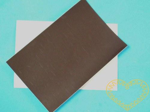 Magnetická samolepící destička - výroba magnetek