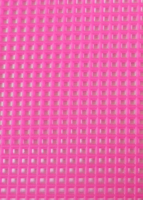 Plastová kanava I - růžová neon