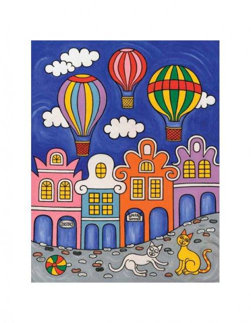 Magnetka - Čekání na balóny