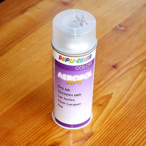 Akrylový čirý lak 400 ml