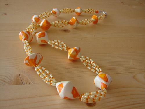 Oranžové bikony
