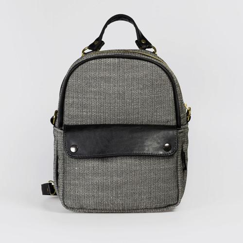 Mini Bagpack Tweedy