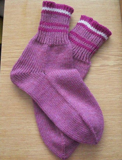 Ponožky fialové vel. 35/36