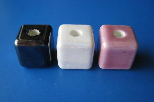 Porcelánové kostičky 3ks - mixík