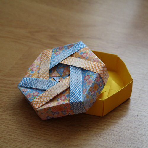 origami krabička