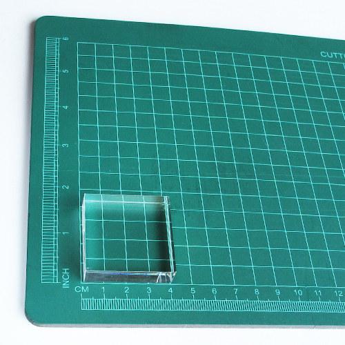 Akryl. bloček pro razítkování (4 x 4 cm)