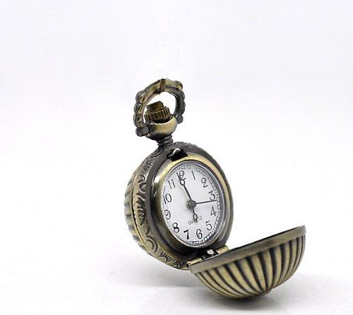 Antické hodinky bronz, Koule,bez řetízku Typ 12