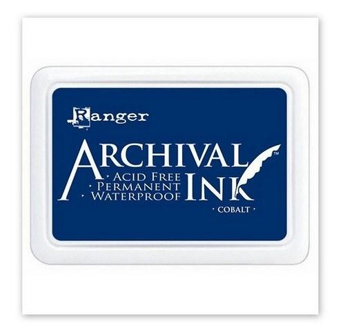 Archival inkoustový polštářek / Cobalt - modrý